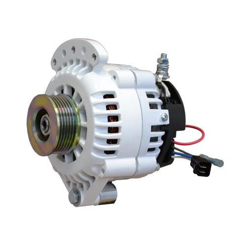 """Balmar Alternator 120 Amp 12V 1-2"""" Single Foot Single K6 Pulley w\/Isolated Grounding [621-120-K6]"""