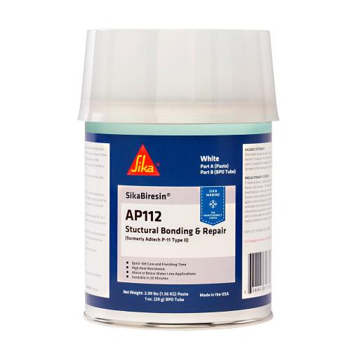 Sika SikaBiresin AP112 + BPO Cream Hardener - White - Quart [611395]
