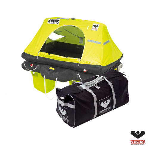 Viking  4 Person Offshore RescYou Liferaft Valise Pack