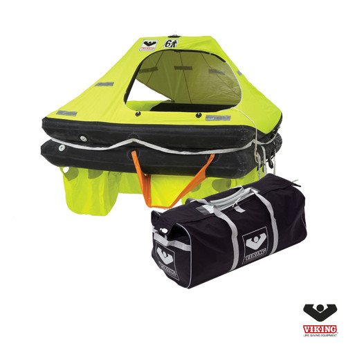 Viking 6 Person Coastal RescYou Liferaft  Velise