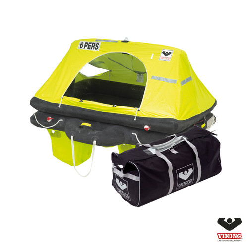Viking 6 Person Offshore RescYou Liferaft Valise Pack