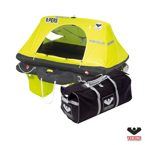 Viking 8 Person Offshore RescYou Liferaft Valise Pack