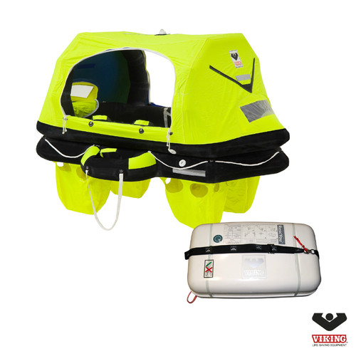 Viking Pro 4 Person Offshore RescYou Liferaft Container Pack