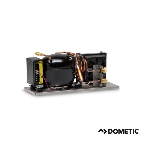 Dometic 80 Series Condensing Unit, Horizontal Layout, 12/24VDC, Air Cooled only