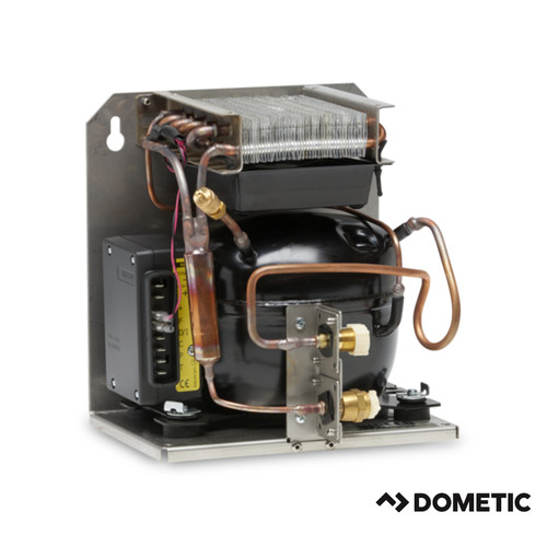 Dometic 80 Series Condensing Unit, Vertical or Wall Mount Layout, 12/24VDC, Air Cooled only