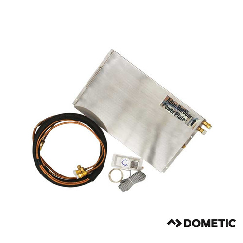 Dometic VD-160, Power Plate Evaporator, With Analog Thermostat, Self-Seal QC