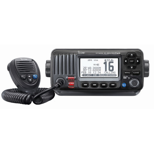 Icom M424G Fixed Mount VHF w\/Built-In GPS - Black [M424G 41]