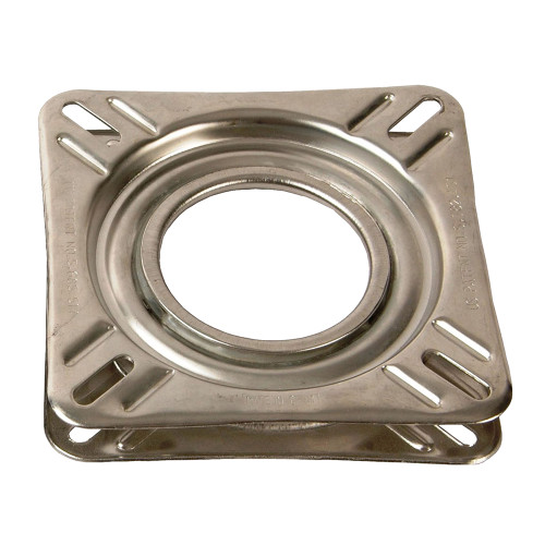 "Springfield 7"" Non-Locking Swivel Base - Stainless Steel [1100009]"