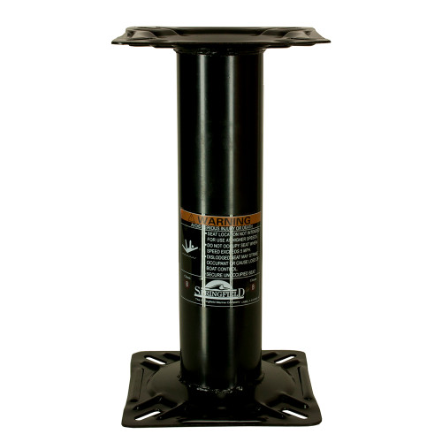 "Springfield 13"" Fixed Height Economy Pedestal [1561106]"
