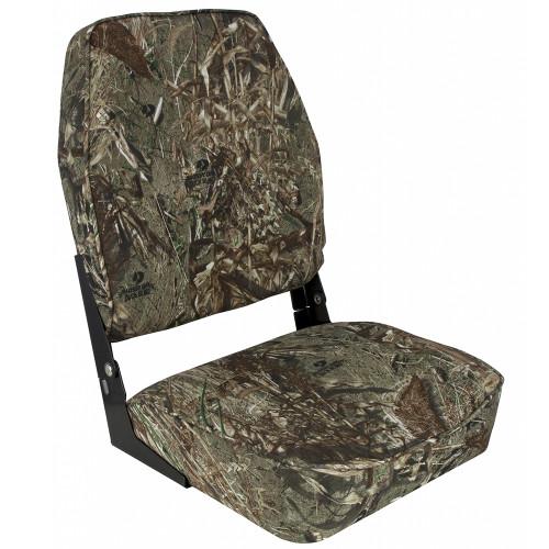 Springfield High Back Camp Folding Seat - Mossy Oak Duck Blind [1040647]