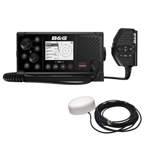 BG V60-B VHF Marine Radio w\/DSC, AIS (Receive  Transmit)  GPS-500 GPS Antenna [000-14819-001]