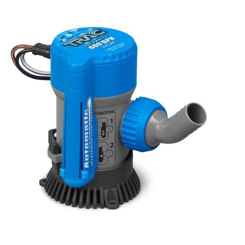 """TRAC Bilge Pump Automatic - 600 GPH - 3\/4"""" Outlet [69310]"""
