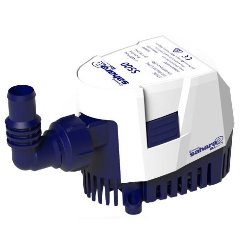 Attwood Sahara MK2 S500 Bilge Pump 500 GPH - 12V - Automatic [5505-7]