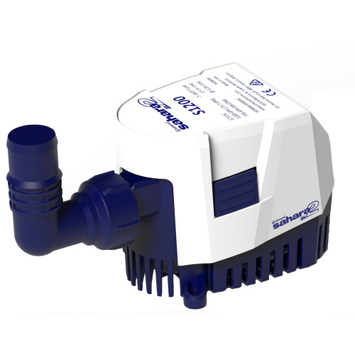 Attwood Sahara MK2 S1200 Bilge Pump 1200 GPH - 12V - Automatic [5512-7]