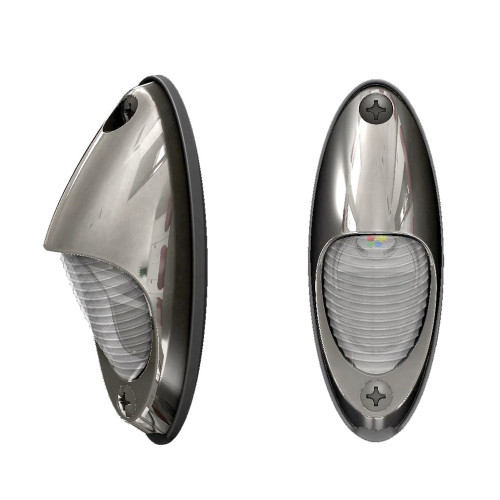 Lumitec Nautilus Piling Light - Spectrum RGBW\/Warm White - Stainless Steel Housing [101670]