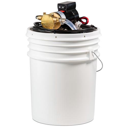 """Johnson Pump Oil Change Kit Includes Bucket w\/F3B-19 Pump 3\/8"""" NPT - 12V [65F3B]"""