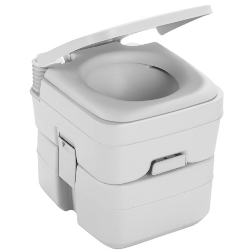 Dometic 965 MSD Portable Toilet w\/Mounting Brackets - 5 Gallon - Platinum [311196506]