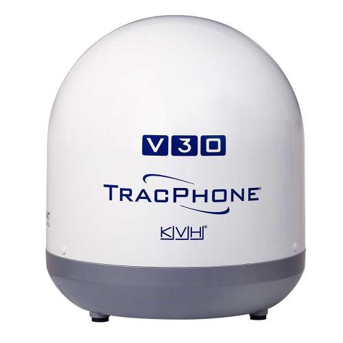 KVH Ultra-Compact TracPhone V30 w\/DC-BDU [01-0432-01]