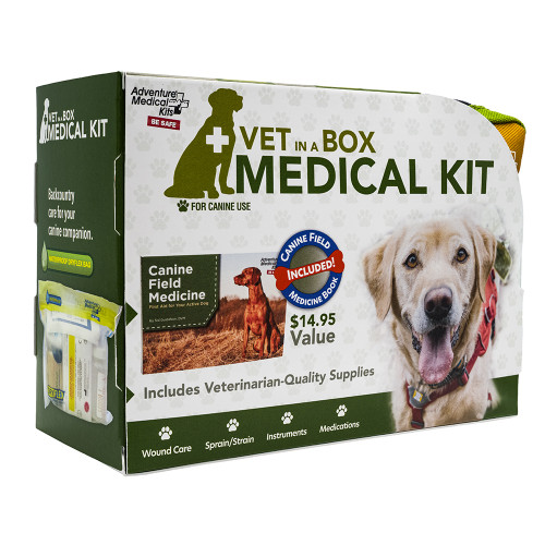 Adventure Medical Dog Series - Vet in a Box First Aid Kit [0135-0117]