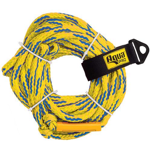 Aqua Leisure 4-Person Floating Tow Rope - 4,100lb Tensile - Yellow [APA20452]