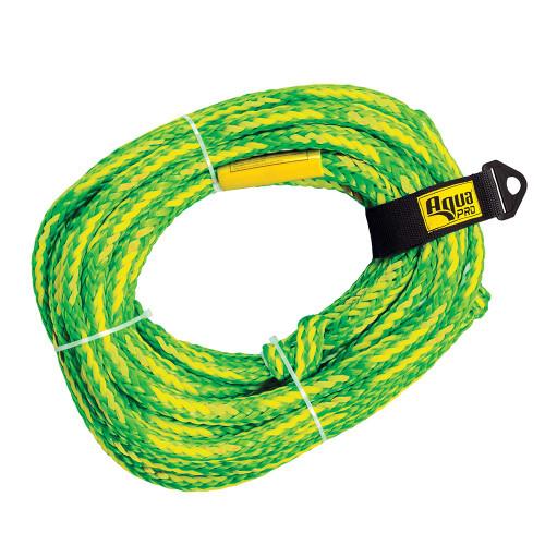 Aqua Leisure 6-Person Floating Tow Rope - 6,100lb Tensile - Green [APA20453]