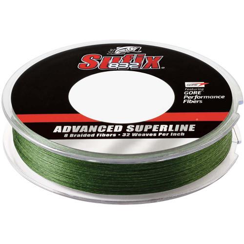 Sufix 832 Advanced Superline Braid - 15lb - Low-Vis Green - 150 yds [660-015G]