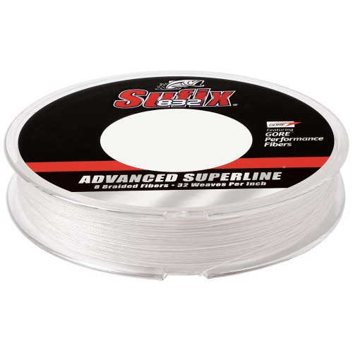 Sufix 832 Advanced Superline Braid - 15lb - Ghost - 150 yds [660-015GH]
