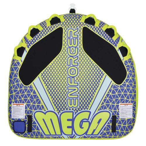 Full Throttle Mega Enforcer Towable Tube - 3 Rider - Yellow [302200-300-003-21]