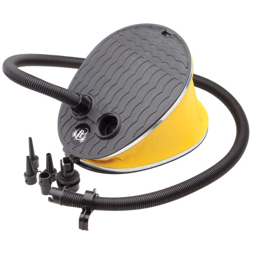 Full Throttle Manual Inflation Foot Pump - Black [310000-700-999-12]