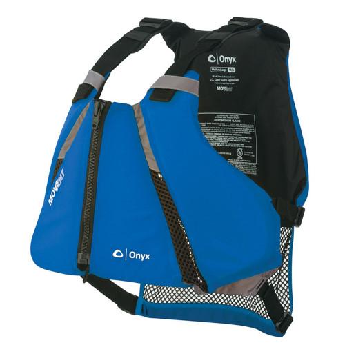 Onyx MoveVent Curve Paddle Sports Life Vest - M\/L - Blue [122000-500-040-16]