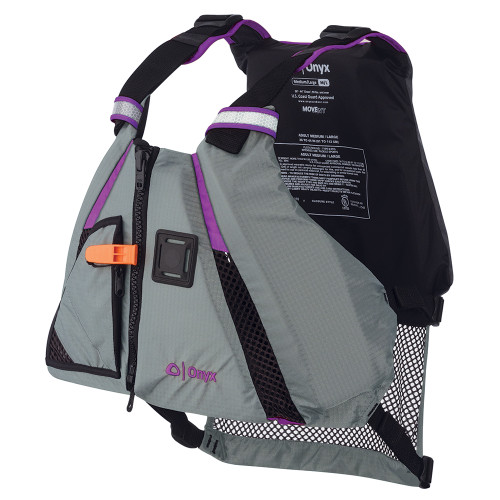 Onyx MoveVent Dynamic Paddle Sports Vest - Purple\/Grey - XS\/Small [122200-600-020-18]