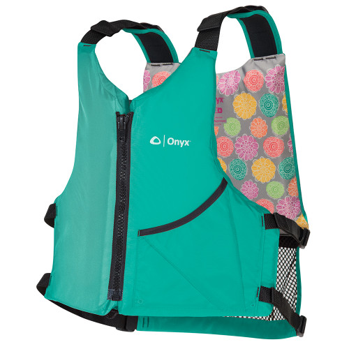 Onyx Universal Paddle Vest - Adult Universal - Aqua\/Floral [121900-505-004-19]