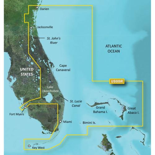 Garmin BlueChart g3 Vision HD - VUS009R - Jacksonville - Key West - microSD\/SD [010-C0710-00]