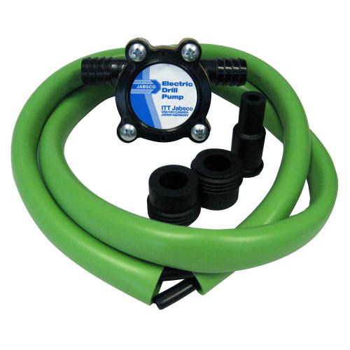 Jabsco Drill Pump Kit w\/Hose [17215-0000]