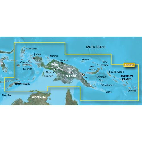 Garmin BlueChart g2 HD - HXAE006R - Timor Leste\/New Guinea - microSD\/SD [010-C0881-20]