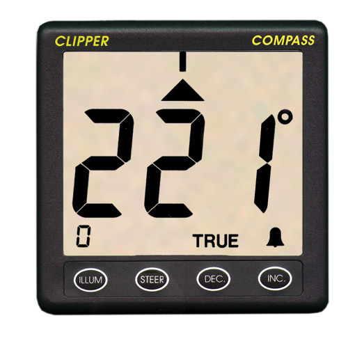Clipper Compass System w\/Remote Fluxgate Sensor [CL-C]