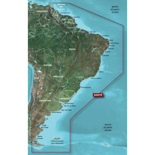 Garmin BlueChart g3 Vision HD - VSA001R - South America East Coast - microSD\/SD [010-C1062-00]