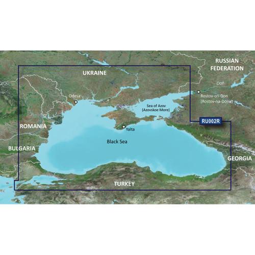 Garmin BlueChart g3 HD - HXRU002R - Black Sea  Azov Sea - microSD\/SD [010-C1064-20]