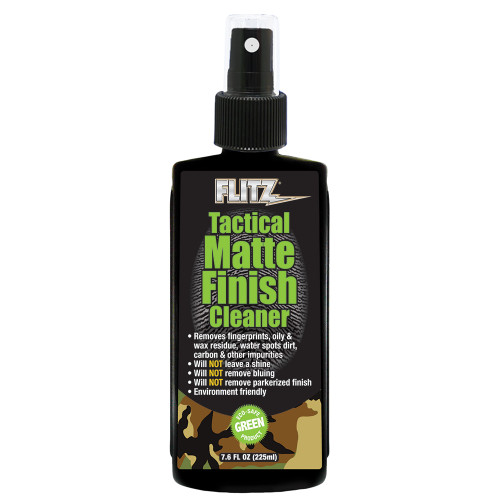 Flitz Tactical Matte Finish Cleaner - 7.6oz Spray [TM 81585]