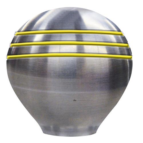 "Schmitt  Ongaro Throttle Knob - 1-"" - Gold Grooves [50025]"