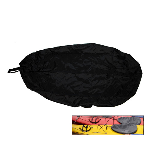 Attwood Universal Fit Kayak Cockpit Cover - Black [11775-5]