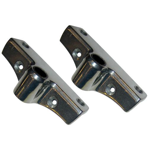 Perko Edge Mount Rowlock Socket - Zinc [1186DP0ZNC]