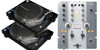 Pioneer PLX-1000 Turntables and DJM-250 Mixer bundle