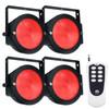 ADJ Dotz Par Pak: 4x Wide Wash Dotz Par Lights With Dotz Par RF Remote