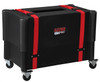 Gator Cases G-212-ROTO 2X12 Combo Amp Transporter / Stand; Molded Plastic