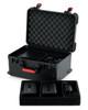 Gator Cases GTSA-MICW7 TSA ATA Case for (7) Wireless Mics & Accessories