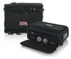 Gator Cases GM-DUALW Carry Bag to Hold Shure BLX Style Wireless Systems with Two Microphones and Two Bodypacks