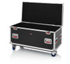 "Gator Cases G-TOURTRK4522HS Truck Pack Utility ATA Flight Case; 45"" x 22"" x 27"" Exterior Before Casters; 9mm Wood Construction"