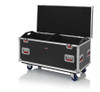 "Gator Cases G-TOURTRK452212 Truck Pack Utility ATA Flight Case; 45"" x 22"" x 27"" Exterior Before Casters; 12mm Wood Construction, Dividers and Lift-Out Trays"
