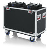 Gator Cases GTOURMH250 G-Tour Flight Case for Two 250-Style Moving Head Lights